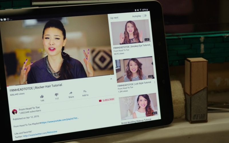 Samsung Tablet Used by Amy Schumer in I Feel Pretty (1)