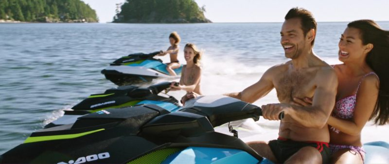 Sea-Doo Watercraft Used by Eugenio Derbez in Overboard (2018) - Movie Product Placement