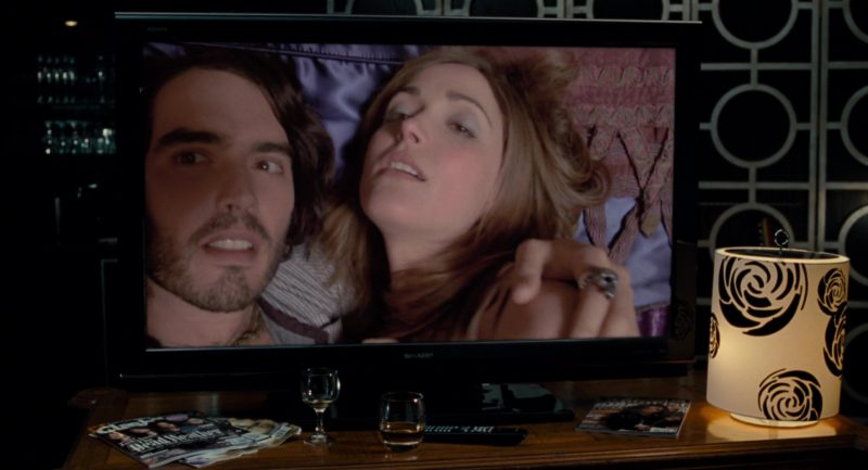 Sharp TV Used by Russell Brand in Get Him to the Greek (2010) - Movie Product Placement