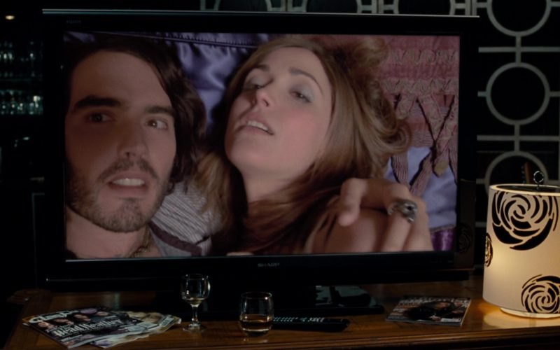 Sharp TV Used by Russell Brand in Get Him to the Greek (1)