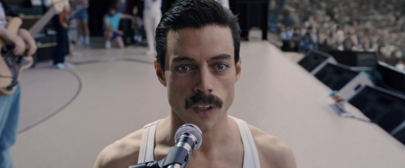 Shure Microphone Used by Rami Malek in Bohemian Rhapsody (2018) - Movie Product Placement