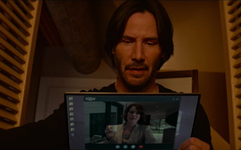 Skype Used by Keanu Reeves in Siberia (3)