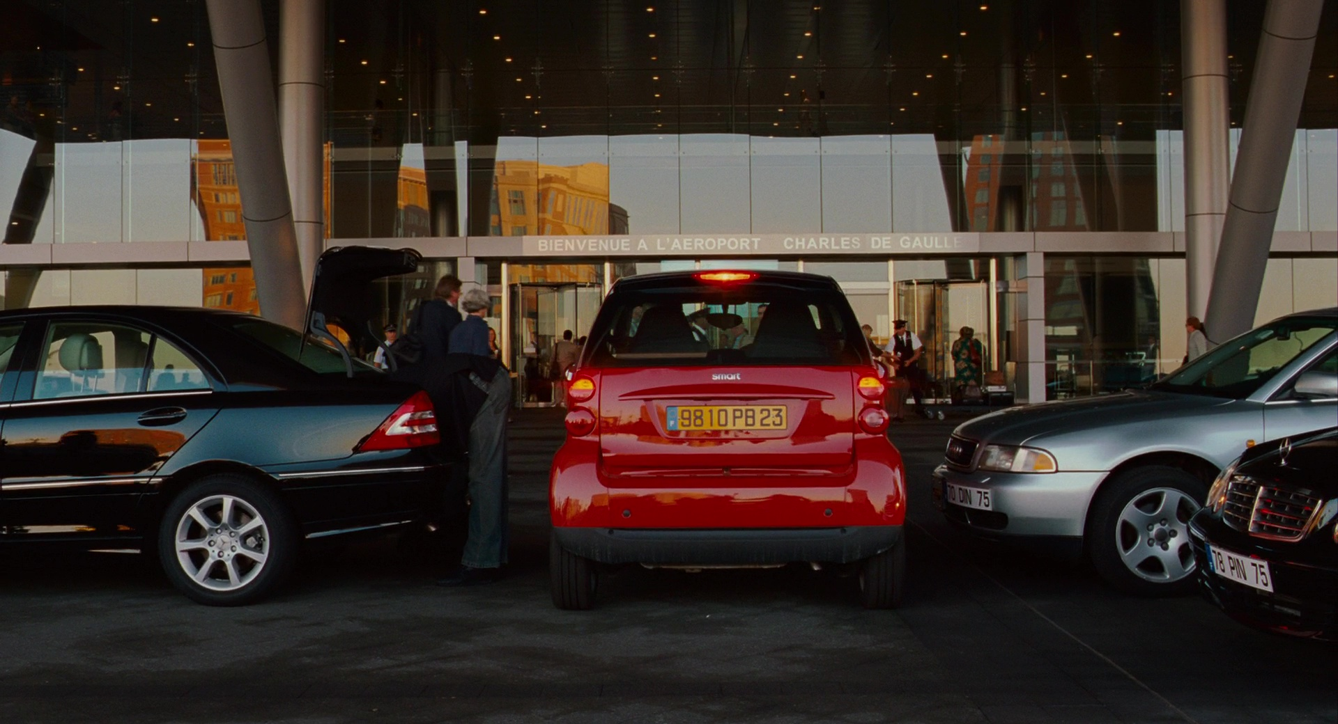 Smart Fortwo Red Cars In The Pink Panther 2 2009 Movie