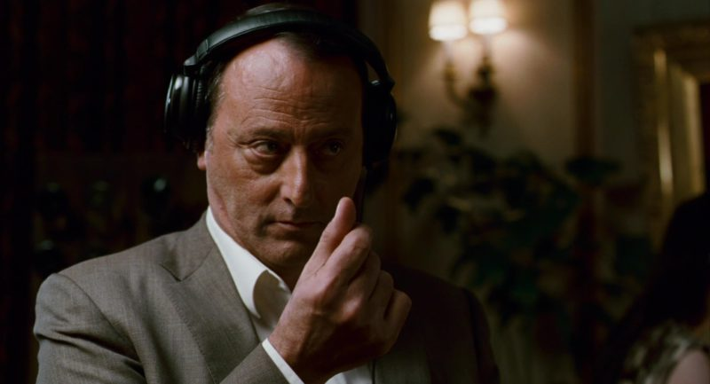 Sony Headphones Worn by Jean Reno in The Pink Panther 2 (2009) - Movie Product Placement