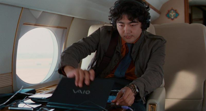 Sony Laptop (Vaio) Used by Yuki Matsuzaki in The Pink Panther 2 (2009) - Movie Product Placement