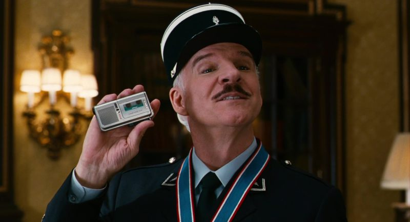Sony Voice Recorder Used by Steve Martin (Inspector Clouseau) in The Pink Panther 2 (2009) - Movie Product Placement