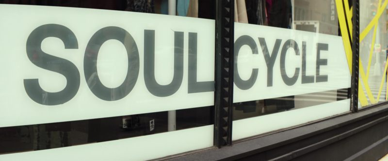 SoulCycle NYC Fitness Company (Indoor Cycling) Visited by Amy Schumer in I Feel Pretty (2018) - Movie Product Placement