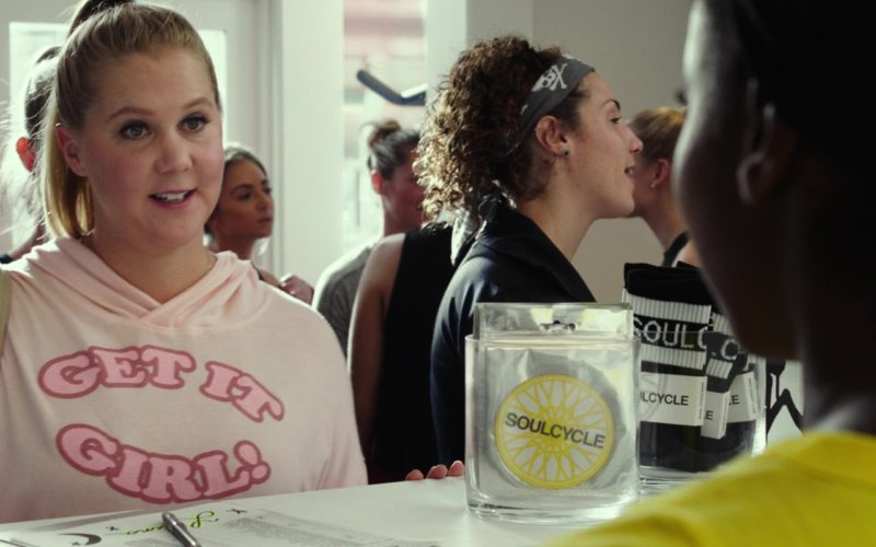 SoulCycle NYC Fitness Company (Indoor Cycling) Visited by Amy Schumer in I Feel Pretty (4)