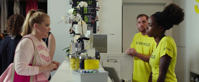 SoulCycle NYC Fitness Company (Indoor Cycling) Visited by Amy Schumer in I Feel Pretty (2018) Movie Product Placement