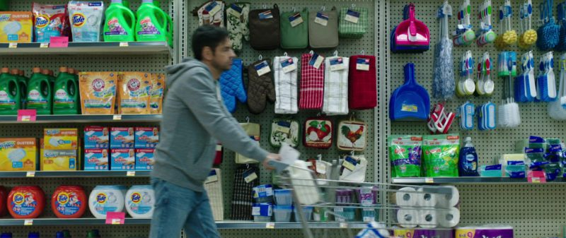 Tide, Mr. Clean, Swiffer in Overboard (2018) Movie Product Placement