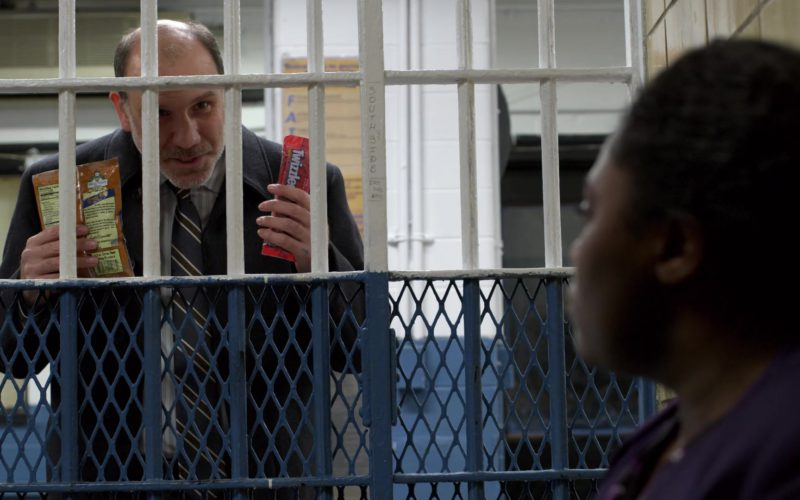 Twizzlers Candy Held by Nick Sandow (Joe Caputo) in Orange Is the New Black (1)