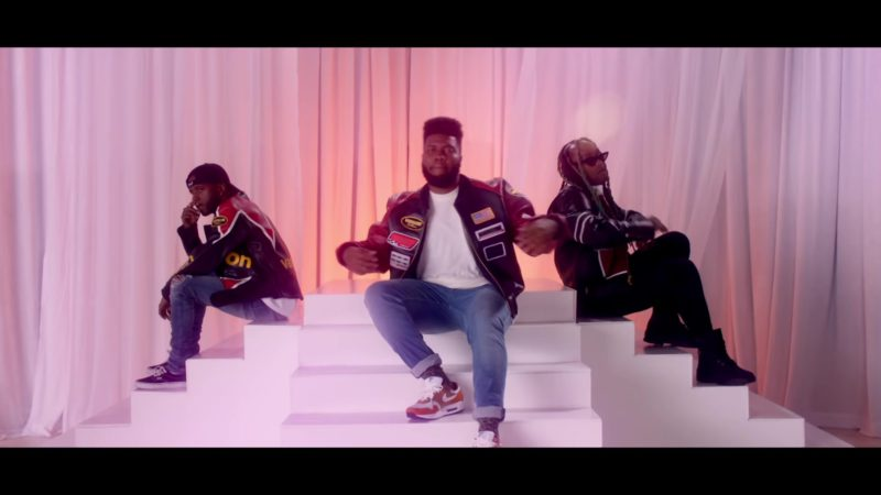 "Vanson Leather Jacket and Nike Sneakers Worn by Khalid in ""OTW"" (2018) Official Music Video Product Placement"