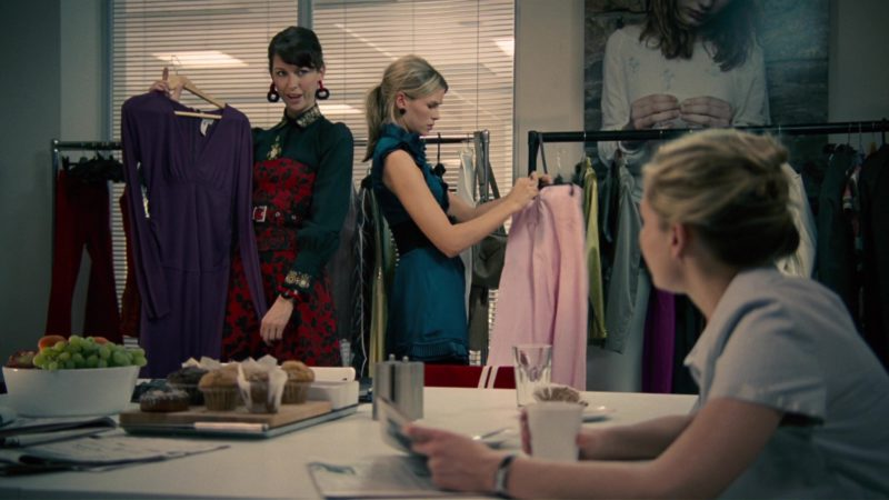 Versace Dress in How to Lose Friends & Alienate People (2008) Movie Product Placement