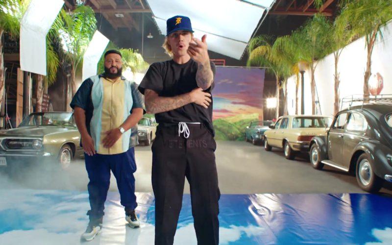 "Vetements Pants (Black) Worn by Justin Bieber in ""No Brainer"" (8)"