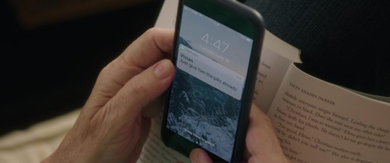 AT&T and iPhone Used by Mary Steenburgen in Book Club (2018) - Movie Product Placement