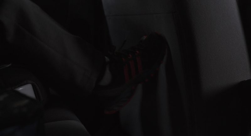 Adidas Boys Black Sneakers in Tully (2018) Movie Product Placement