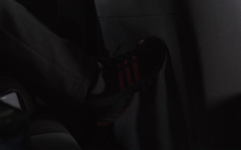 Adidas Boys Black Sneakers in Tully (3)