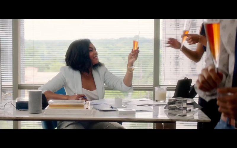 Amazon Echo (Alexa Voice Service) Smart Speaker Used by Taraji P. Henson in What Men Want (1)
