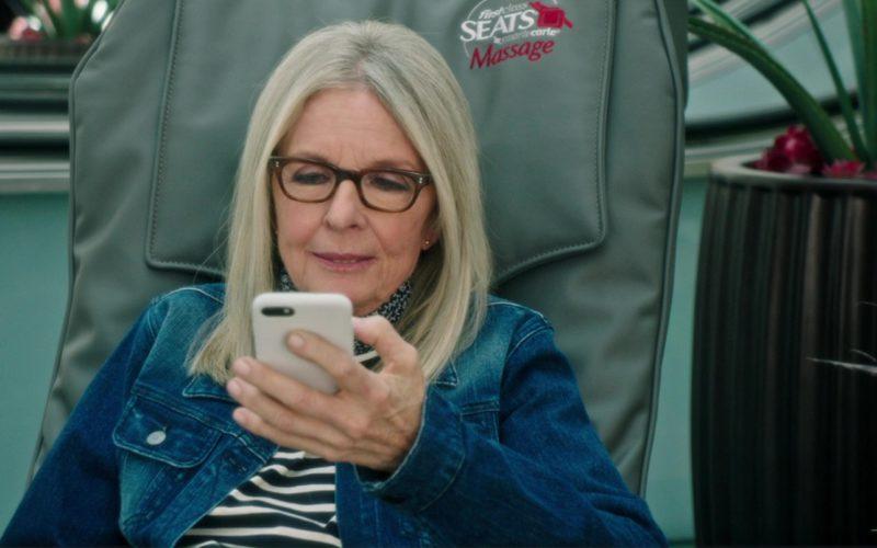 Apple iPhone Smartphone Used by Diane Keaton in Book Club (1)