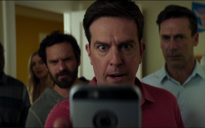 Apple iPhone Smartphone Used by Ed Helms in Tag (1)