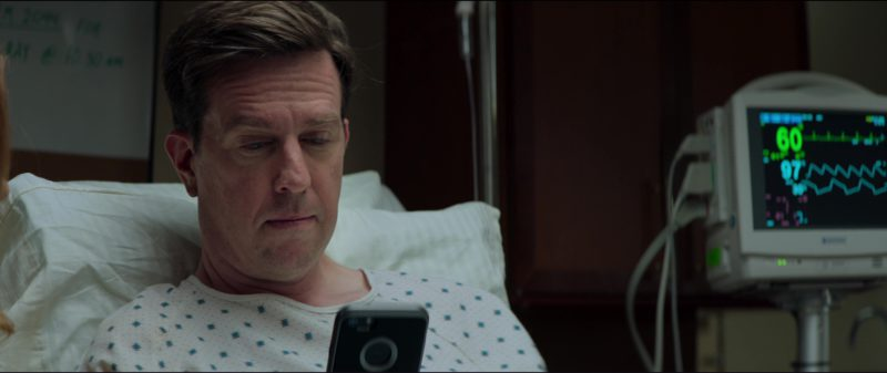 Apple iPhone Smartphone Used by Ed Helms in Tag (2018) Movie Product Placement