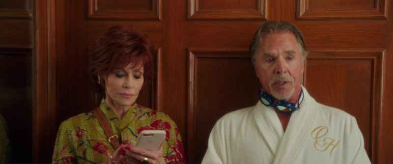Apple iPhone Smartphone Used by Jane Fonda in Book Club (2018) Movie Product Placement