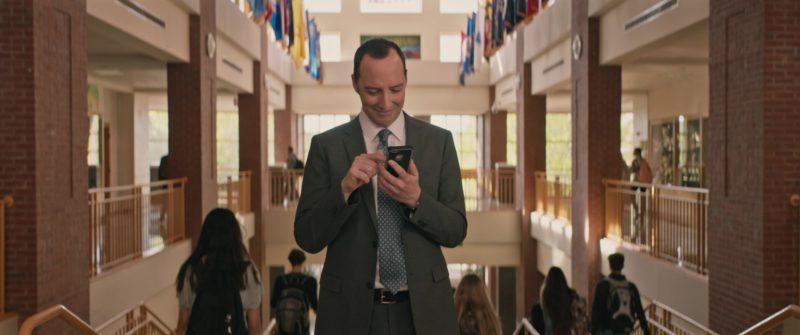 Apple iPhone Used by Tony Hale in Love, Simon (2018) Movie Product Placement