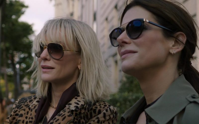 Barton Perreira Sunglasses Worn by Sandra Bullock and Dita Sunglasses Worn by Cate Blanchett in Ocean's 8 (1)