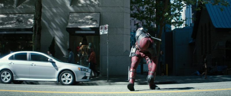 Black Goat Cashmere Store in Deadpool 2 (2018) Movie Product Placement