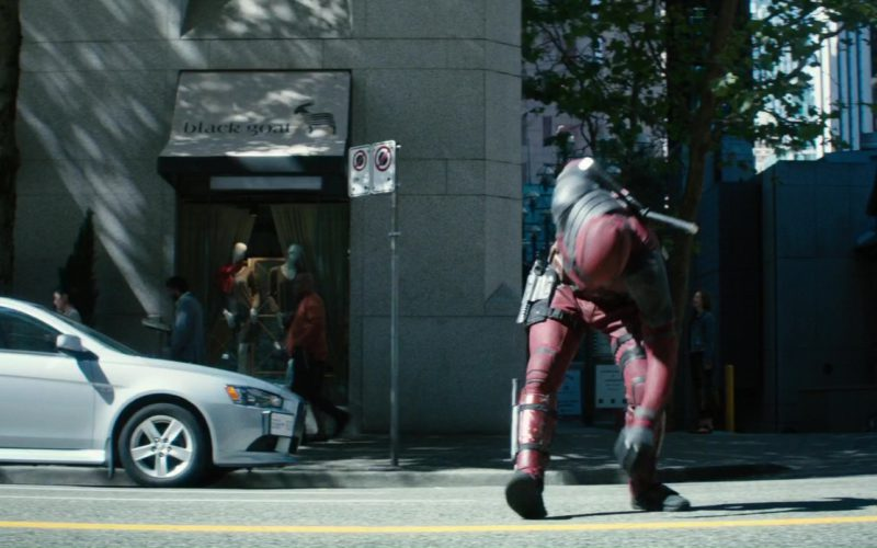 Black Goat Cashmere Store in Deadpool 2