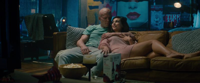 Bodacious Smooth White Wine Drunk by Ryan Reynolds and Morena Baccarin in Deadpool 2 (2018) Movie Product Placement