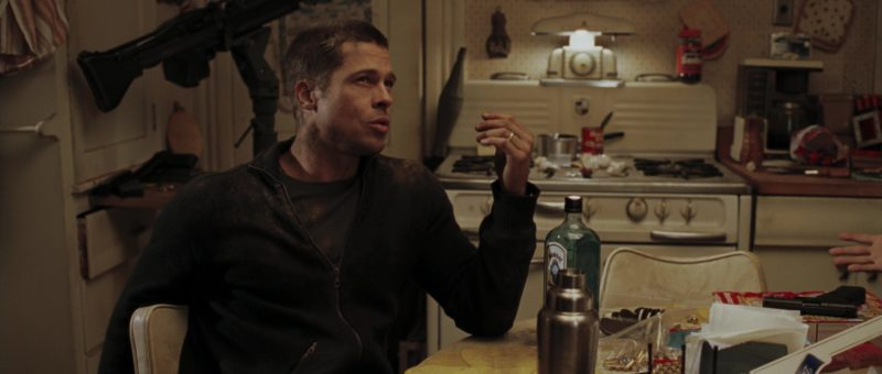 Bombay Sapphire Gin Drunk by Brad Pitt and Vince Vaughn in Mr. & Mrs. Smith (2005) - Movie Product Placement