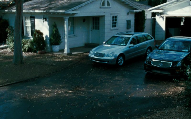 Cadillac CTS-V and Mercedes-Benz C320 [S203] in Mr. & Mrs. Smith (1)