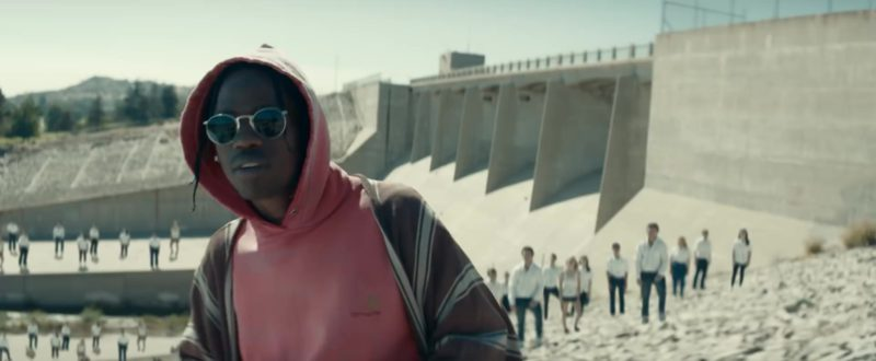 "Carhartt Hoodie Worn by Travis Scott in ""Stop Trying to Be God"" (2018) Official Music Video"