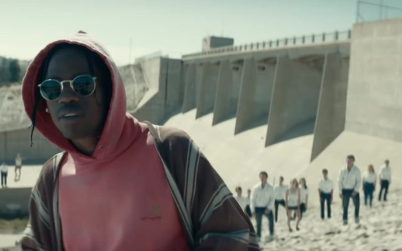 """Carhartt Hoodie Worn by Travis Scott in """"Stop Trying to Be God"""" (1)"""