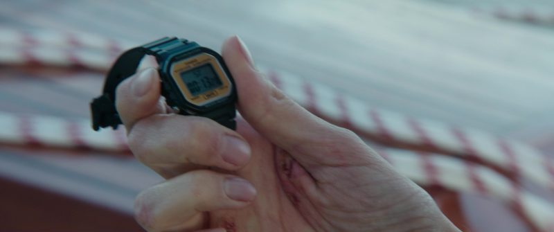 Casio Watch Used by Shailene Woodley in Adrift (2018) Movie Product Placement