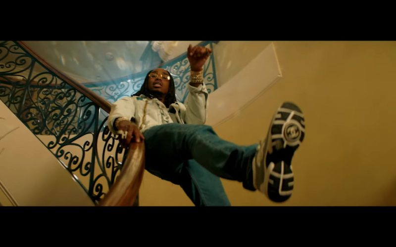 """Chanel Sneakers Worn by Quavo in """"Workin Me"""" (3)"""