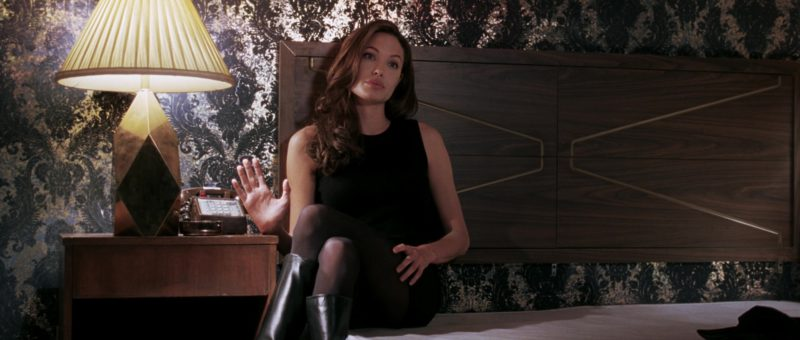 Christian Louboutin High Heel Boots Worn by Angelina Jolie in Mr. & Mrs. Smith (2005) Movie Product Placement