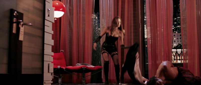 Christian Louboutin Knee High Boots Worn by Angelina Jolie in Mr. & Mrs. Smith (2005) - Movie Product Placement