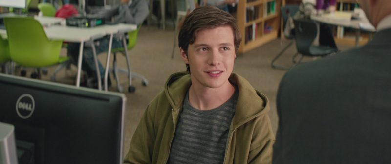 Dell Monitor Used by Nick Robinson in Love, Simon (2018) Movie Product Placement