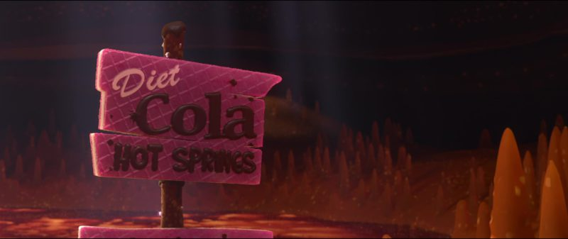 Diet Cola in Wreck-It Ralph (2012) Animation Movie Product Placement