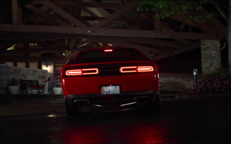 Dodge Challenger SRT 392 (Red) Car Driven by Jeremy Renner in Tag (2)