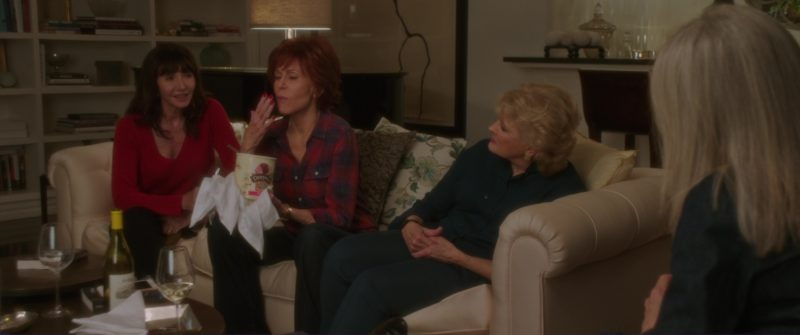Dreyer's Ice Cream Held by Jane Fonda in Book Club (2018) Movie Product Placement