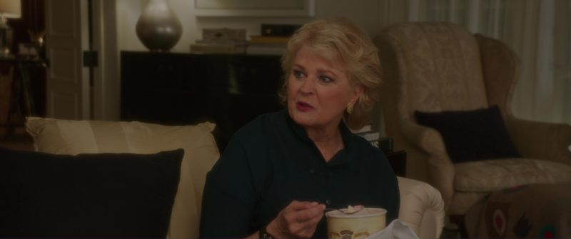Dreyer's Ice Cream Held by Candice Bergen in Book Club (2018) Movie Product Placement