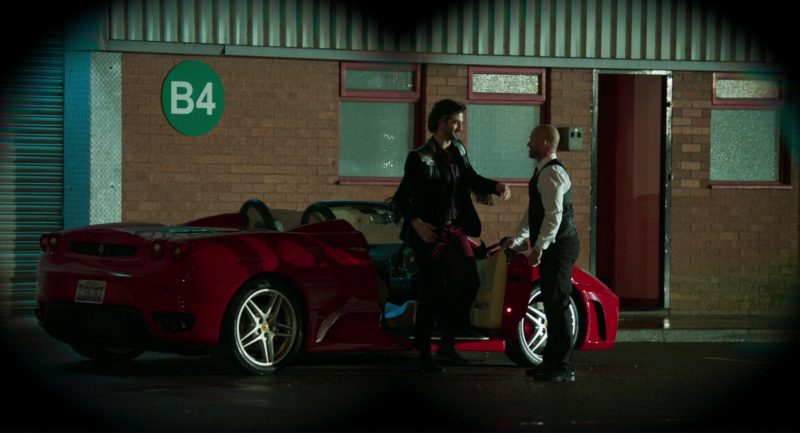 Ferrari Red Sports Car in Show Dogs (2018) - Movie Product Placement