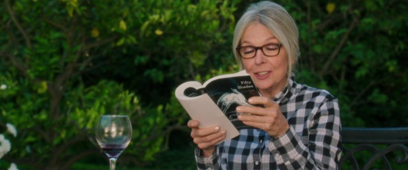 Fifty Shades Darker (Novel by E. L. James) Held by Diane Keaton in Book Club (2018) Movie Product Placement