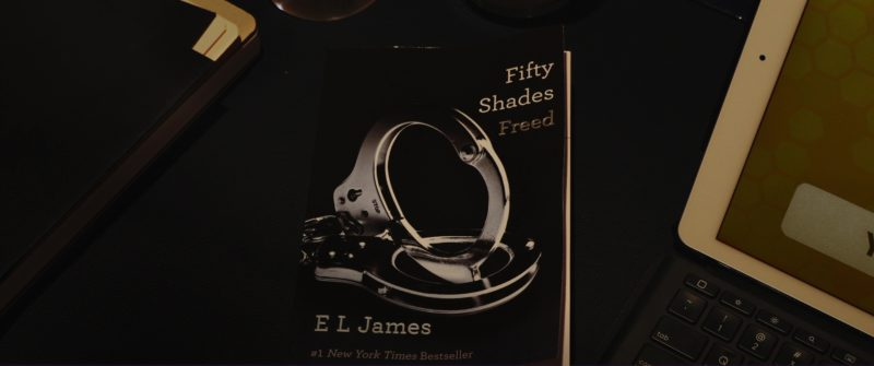 Fifty Shades Freed (Novel by E. L. James) in Book Club (2018) Movie Product Placement