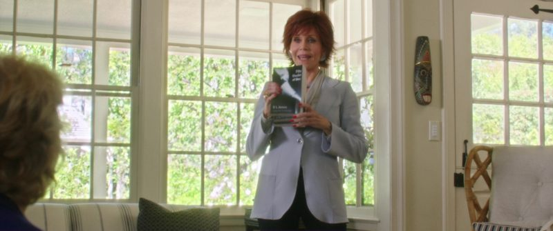 Fifty Shades of Grey (Novel by E. L. James) Held by Jane Fonda in Book Club (2018) Movie Product Placement