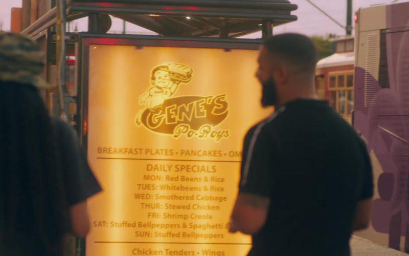 """Gene's Po-Boys Sandwich Shop, New Orleans in """"In My Feelings"""" by Drake (1)"""