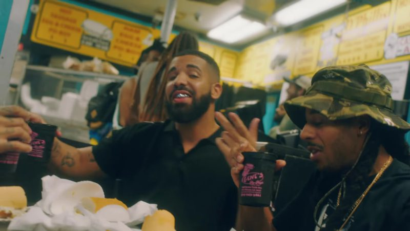 "Gene's Po-Boys Sandwich Shop, New Orleans in ""In My Feelings"" by Drake (2018) Music Video Product Placement"